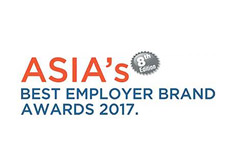 Asia Best Employer Brand Award 2017